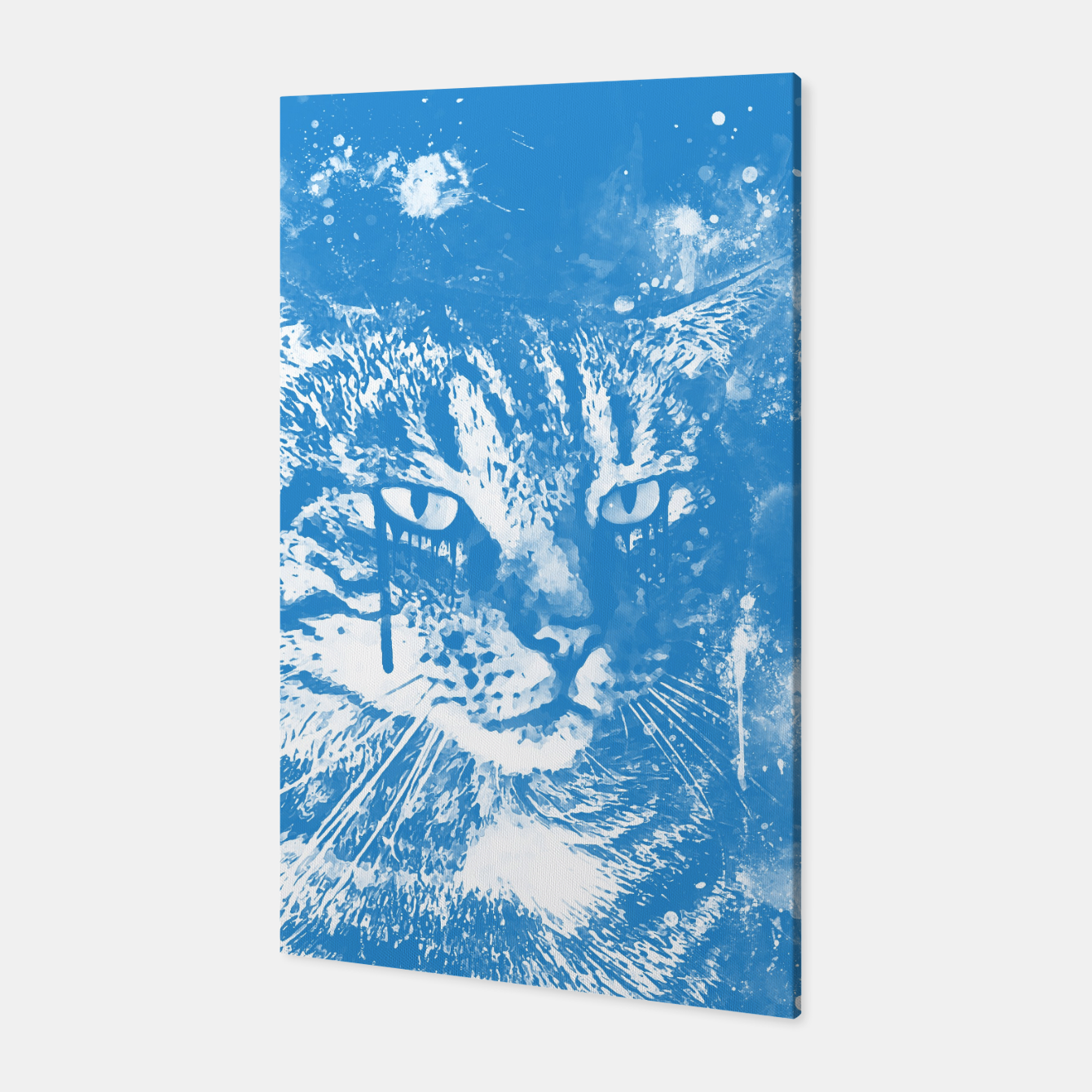 Image of koko the cat wswb Canvas - Live Heroes
