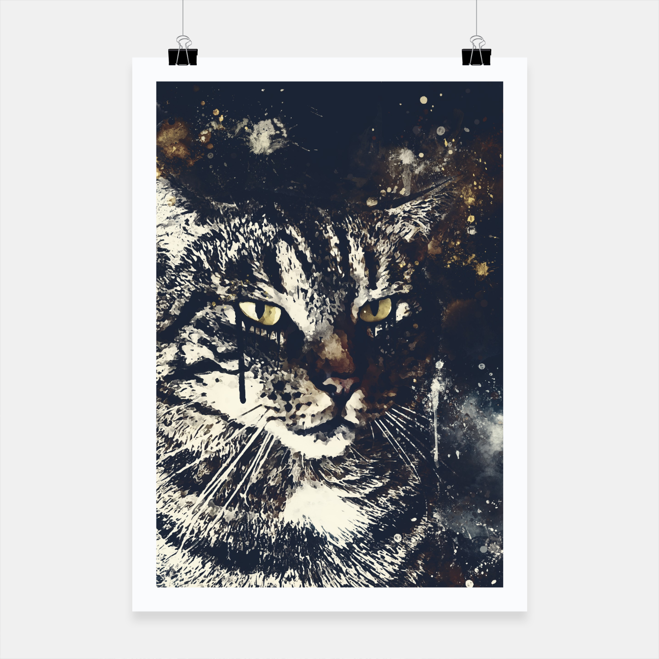 Image of koko the cat wsfn Poster - Live Heroes