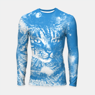 Thumbnail image of koko the cat wswb Longsleeve rashguard , Live Heroes