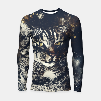Thumbnail image of koko the cat wsfn Longsleeve rashguard , Live Heroes