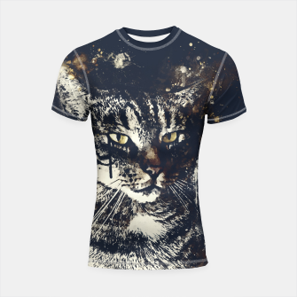 Thumbnail image of koko the cat wsfn Shortsleeve rashguard, Live Heroes