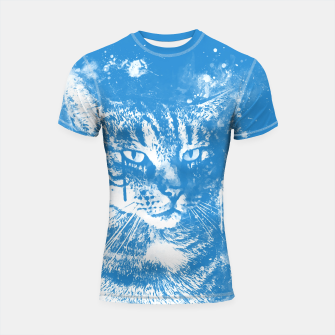 Thumbnail image of koko the cat wswb Shortsleeve rashguard, Live Heroes