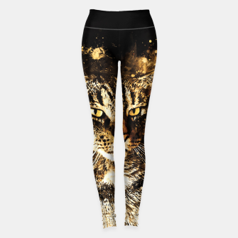 Thumbnail image of koko the cat wssepia Leggings, Live Heroes