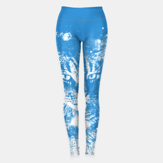 Thumbnail image of koko the cat wswb Leggings, Live Heroes