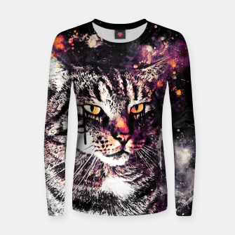 Thumbnail image of koko the cat wslsh Women sweater, Live Heroes