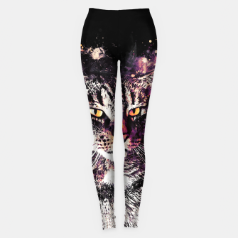 Miniature de image de koko the cat wslsh Leggings, Live Heroes