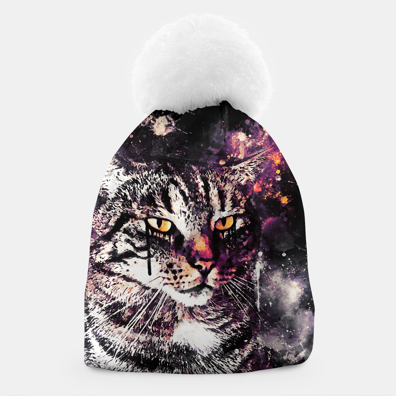 Image of koko the cat wslsh Beanie - Live Heroes