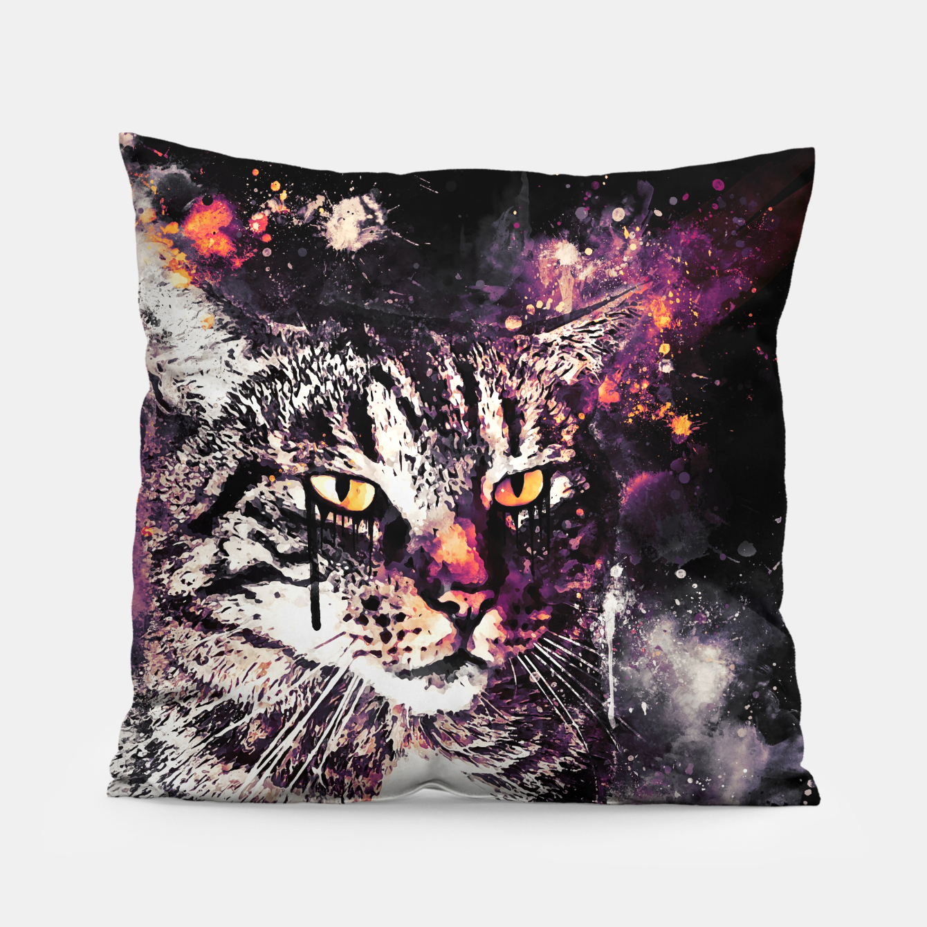 Image of koko the cat wslsh Pillow - Live Heroes