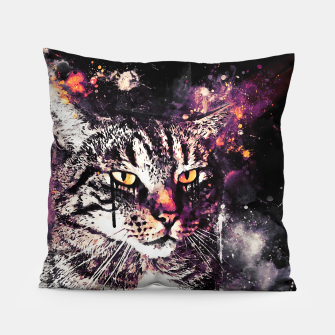 Thumbnail image of koko the cat wslsh Pillow, Live Heroes