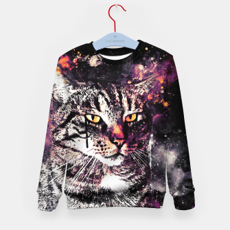 koko the cat wslsh Kid's sweater thumbnail image