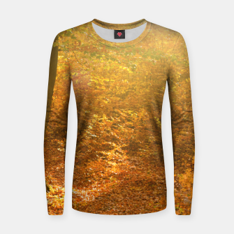 Miniature de image de Sunny forest Women sweater, Live Heroes