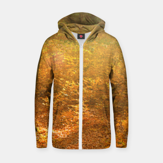 Thumbnail image of Sunny forest Zip up hoodie, Live Heroes