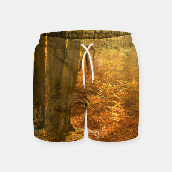 Thumbnail image of Sunny forest Swim Shorts, Live Heroes