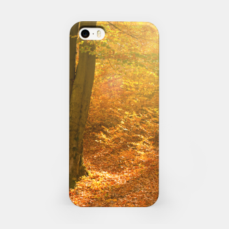 Miniature de image de Sunny forest iPhone Case, Live Heroes