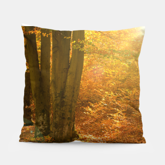 Thumbnail image of Sunny forest Pillow, Live Heroes