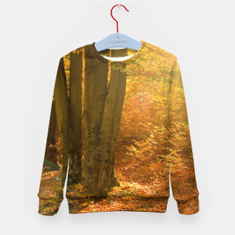 Miniature de image de Sunny forest Kid's sweater, Live Heroes
