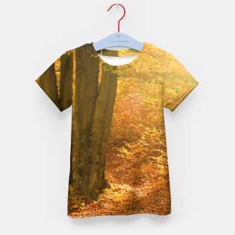 Thumbnail image of Sunny forest Kid's t-shirt, Live Heroes