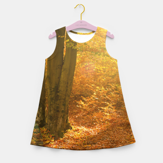Thumbnail image of Sunny forest Girl's summer dress, Live Heroes
