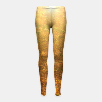 Miniature de image de Sunny forest Girl's leggings, Live Heroes