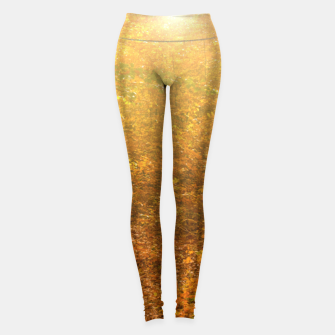Thumbnail image of Sunny forest Leggings, Live Heroes