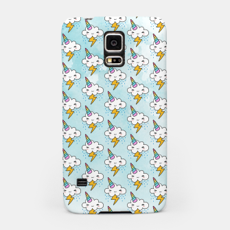 Thumbnail image of Stormy Cloudycorn Cute kawaii Samsung Case, Live Heroes