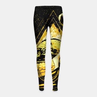 Thumbnail image of Golden V1 Leggings para niña, Live Heroes