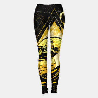 Thumbnail image of Golden V1 Leggings, Live Heroes