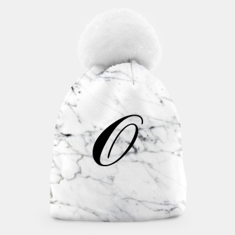 Miniature de image de Abstract natural marble texture and alphabet O Beanie, Live Heroes