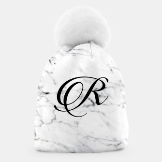 Miniature de image de Abstract natural marble texture and alphabet R Beanie, Live Heroes