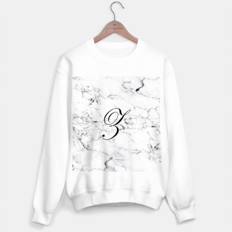 Miniature de image de Abstract natural marble texture and alphabet Z Sweater regular, Live Heroes