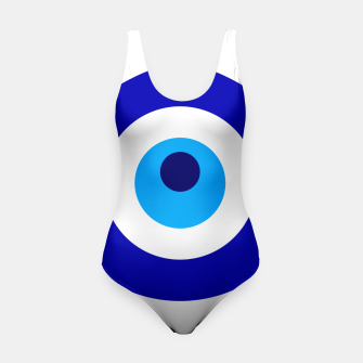 Miniaturka Turkish amulet called Nazar which means sight, surveillance, attention used as a sign of protection in Middle east Swimsuit, Live Heroes