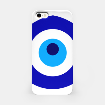 Imagen en miniatura de Turkish amulet called Nazar which means sight, surveillance, attention used as a sign of protection in Middle east iPhone Case, Live Heroes