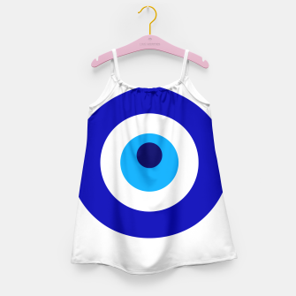 Miniaturka Turkish amulet called Nazar which means sight, surveillance, attention used as a sign of protection in Middle east Girl's dress, Live Heroes