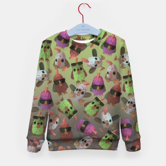 Thumbnail image of Chicken Gang Kid's sweater, Live Heroes
