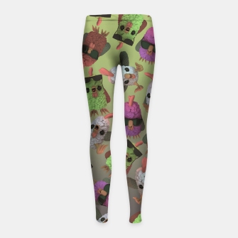 Imagen en miniatura de Chicken Gang Girl's leggings, Live Heroes