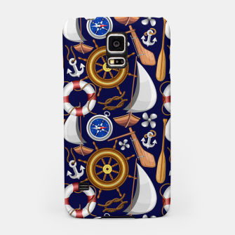 Thumbnail image of Nautical Marine and Navy Equipment Samsung Case, Live Heroes