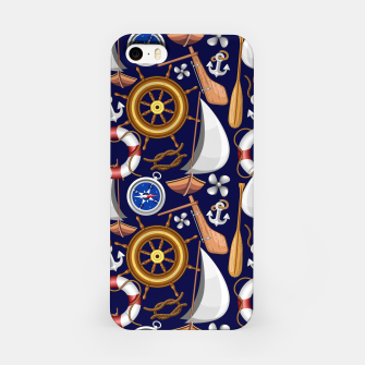 Thumbnail image of Nautical Marine and Navy Equipment iPhone Case, Live Heroes