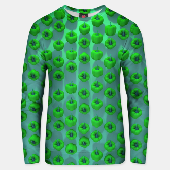 Thumbnail image of Paprika Green Unisex sweater, Live Heroes