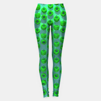 Thumbnail image of Paprika Green Leggings, Live Heroes