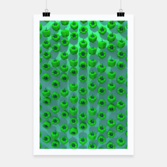 Thumbnail image of Paprika Green Poster, Live Heroes