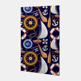 Miniatur Nautical Marine and Navy Equipment Canvas, Live Heroes