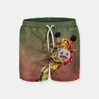 Cool Giraffe Swim Shorts thumbnail image