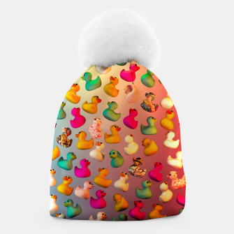 Thumbnail image of Rubber Duck Beanie, Live Heroes