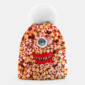 Thumbnail image of Monster Eyes Party Smile Beanie, Live Heroes
