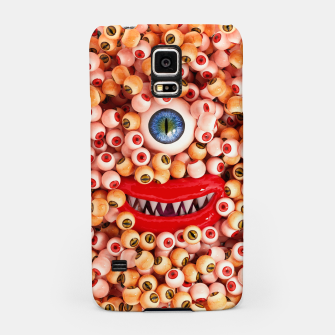 Monster Eyes Party Smile Samsung Case thumbnail image
