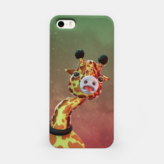 Cool Giraffe iPhone Case thumbnail image
