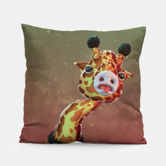 Cool Giraffe Pillow thumbnail image