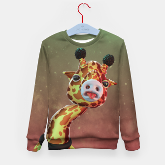 Cool Giraffe Kid's sweater thumbnail image