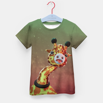 Cool Giraffe Kid's t-shirt thumbnail image