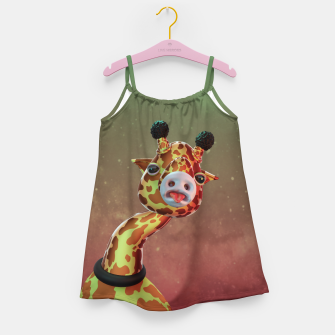 Cool Giraffe Girl's dress thumbnail image